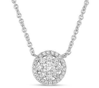 Necklaces diamond n1196wg